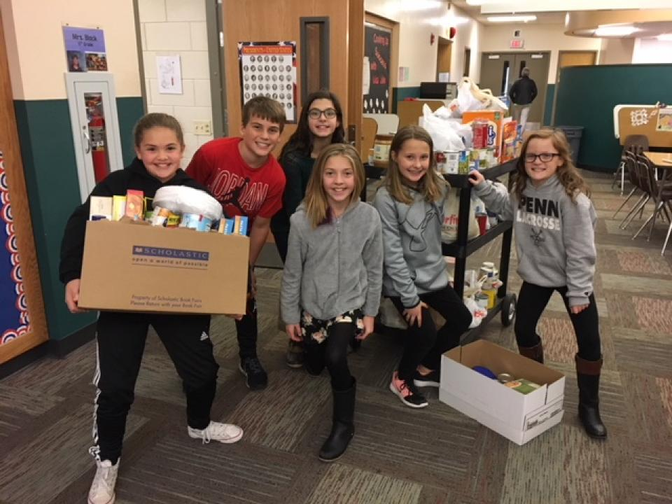 Student Council Annual Food Drive